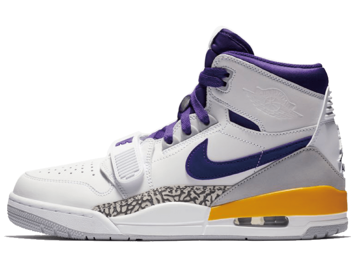 Nike Air Jordan Legacy 312 Field Purple Amarillo Whiteの写真