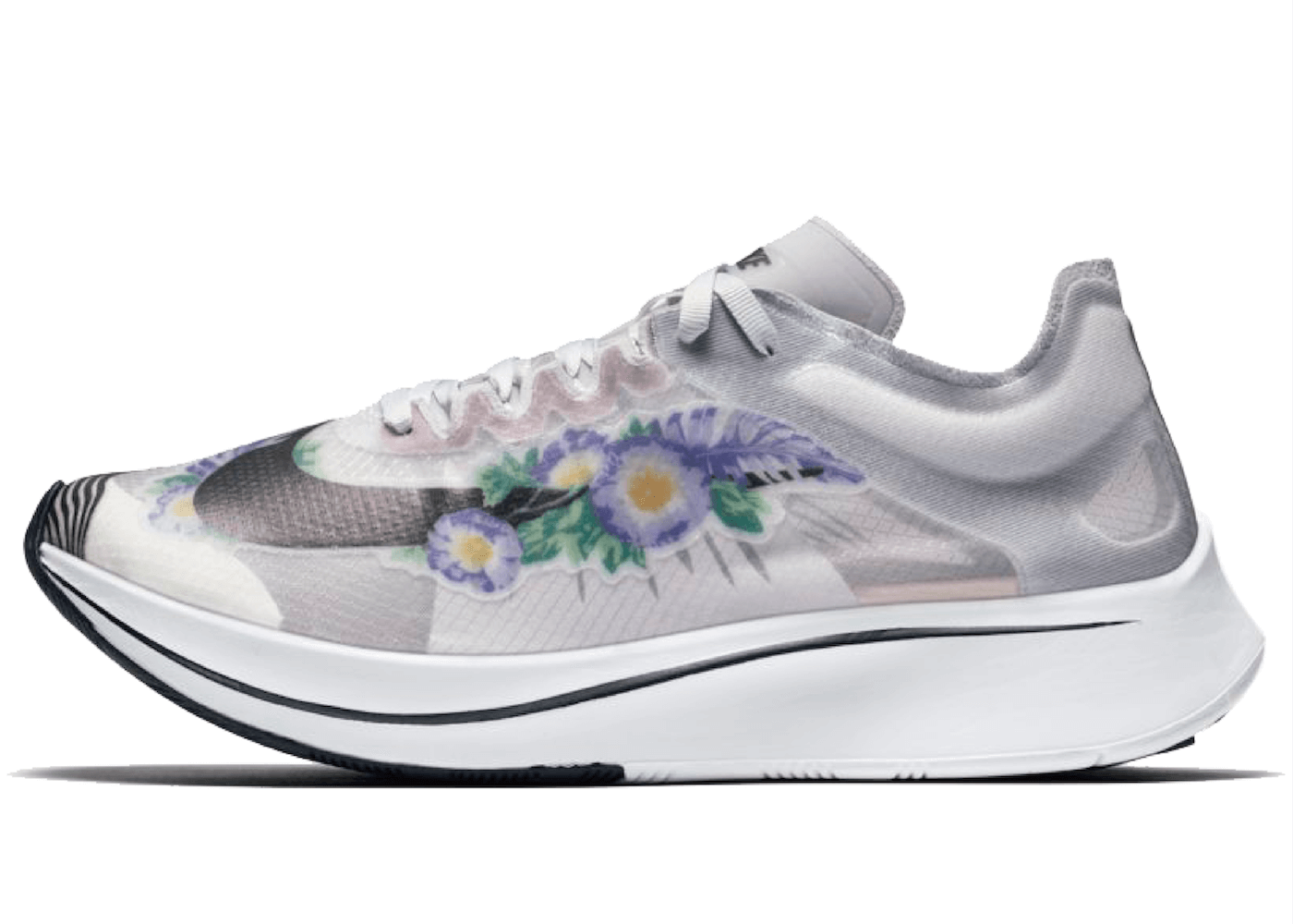 Nike Zoom Fly Pure Platinum Floral (W)の写真