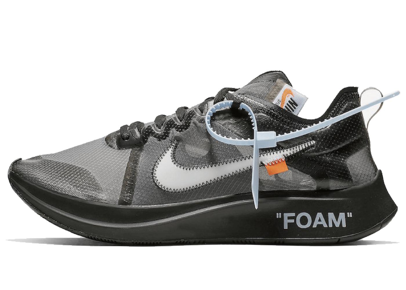 Off-White × Nike Zoom Fly SP Blackの写真