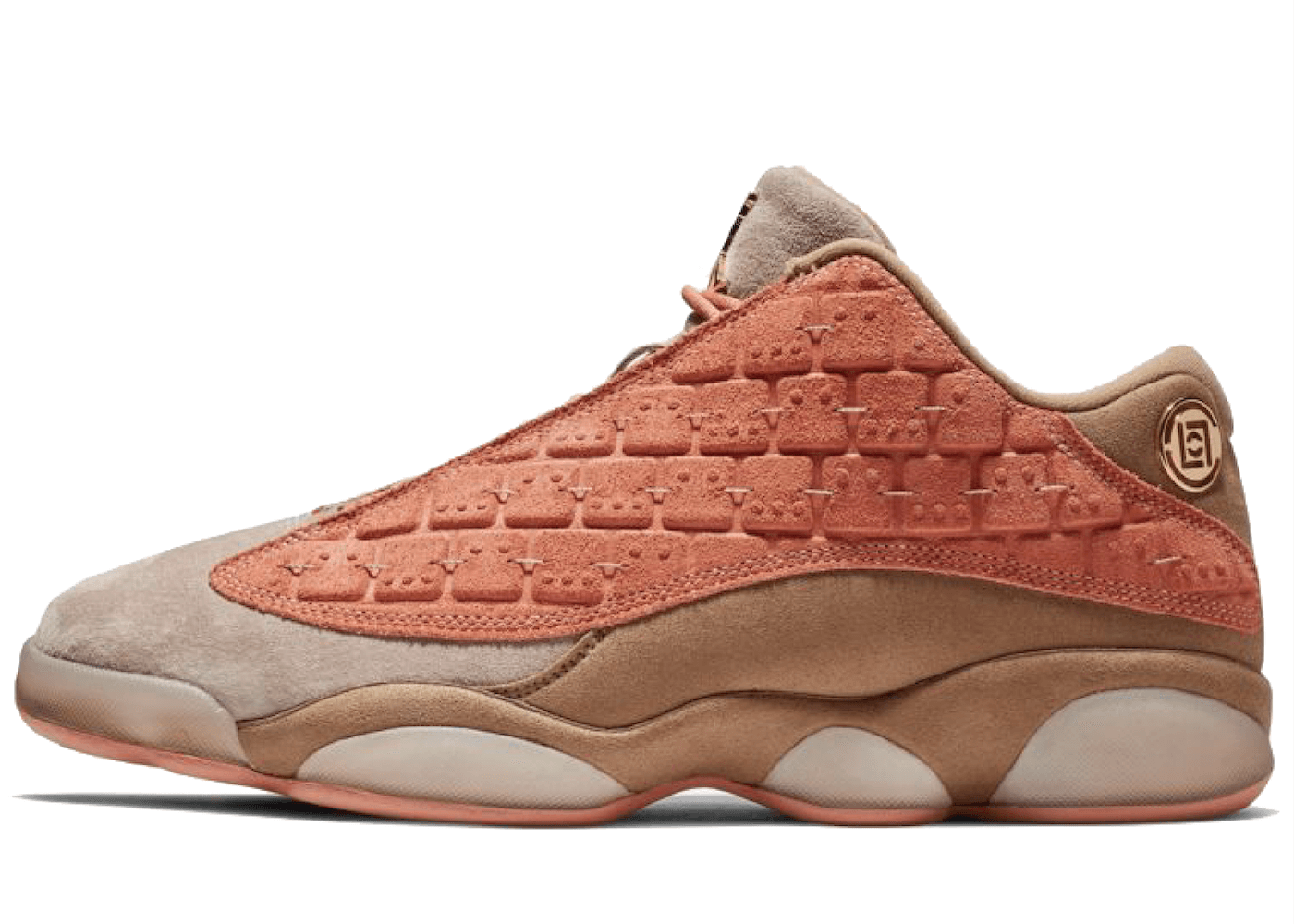 Clot × Nike Air Jordan 13 Retro Low Sepia Stoneの写真