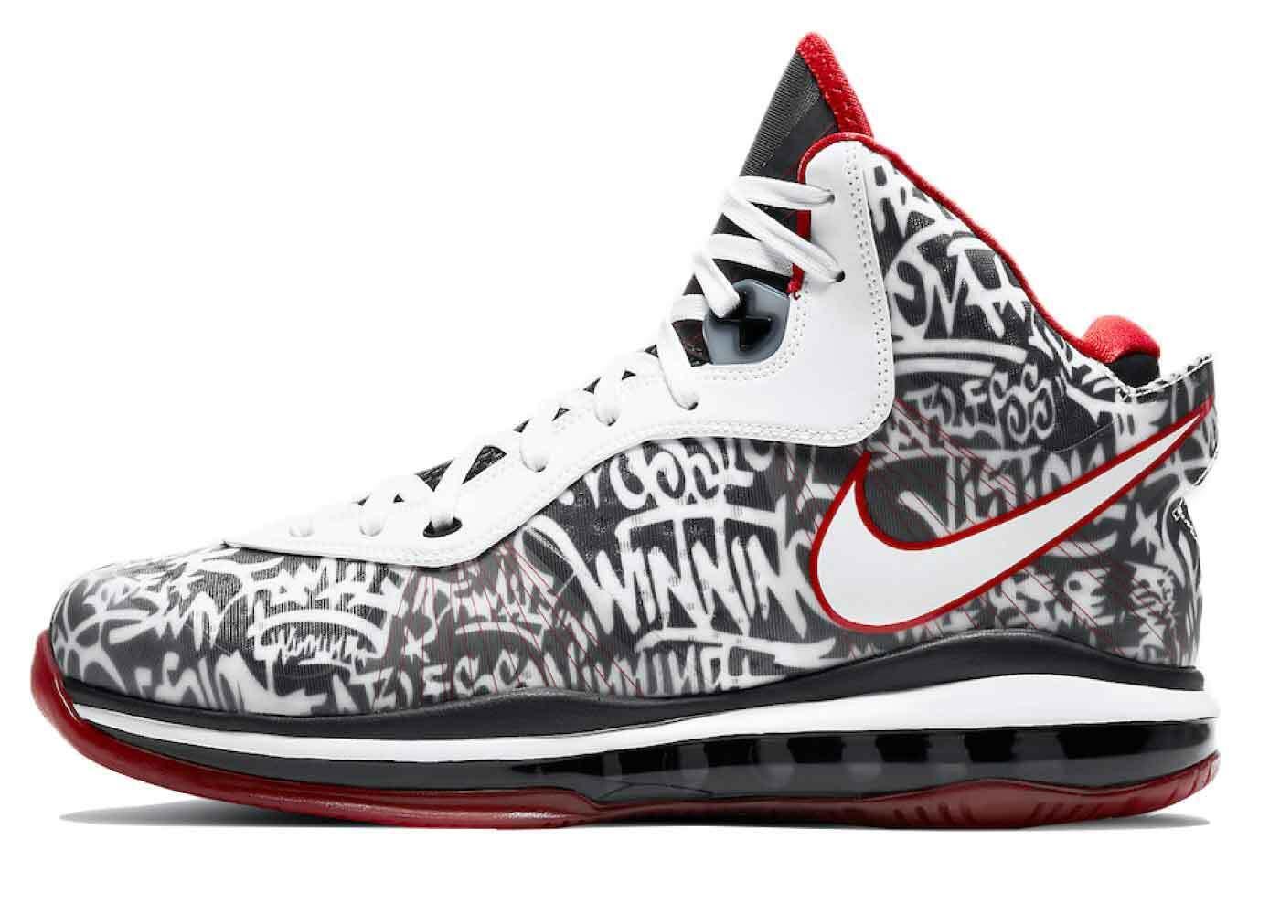 Nike LeBron 8 Graffitiの写真