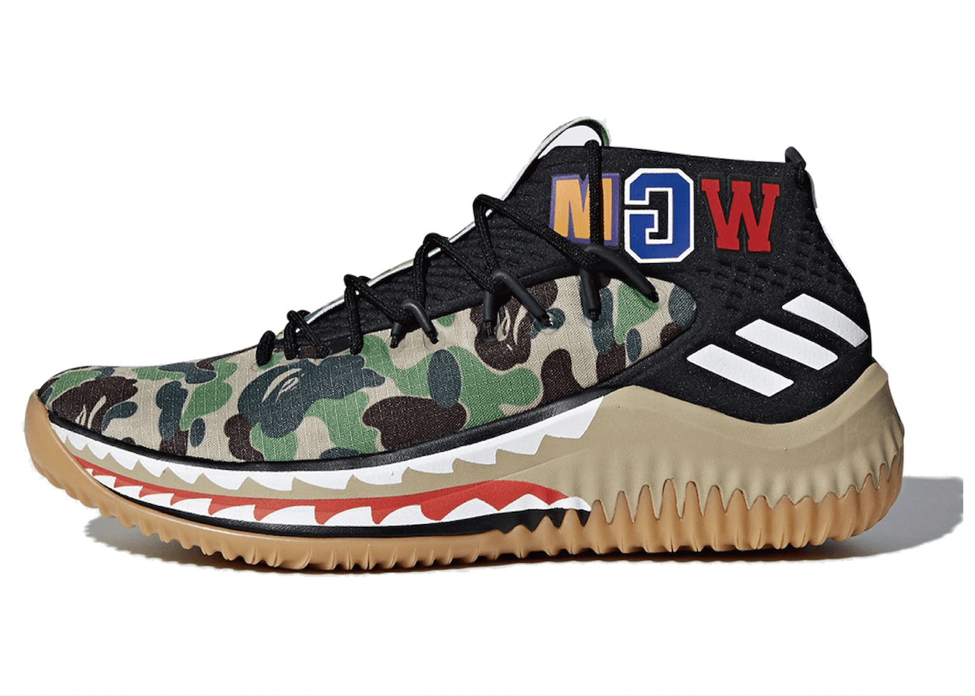 DAME 4 A BATHING APE CAMOの写真