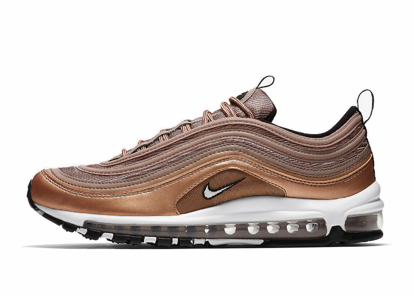 AIR MAX 97 WHITE METALLIC RED BRONZE BLACKの写真