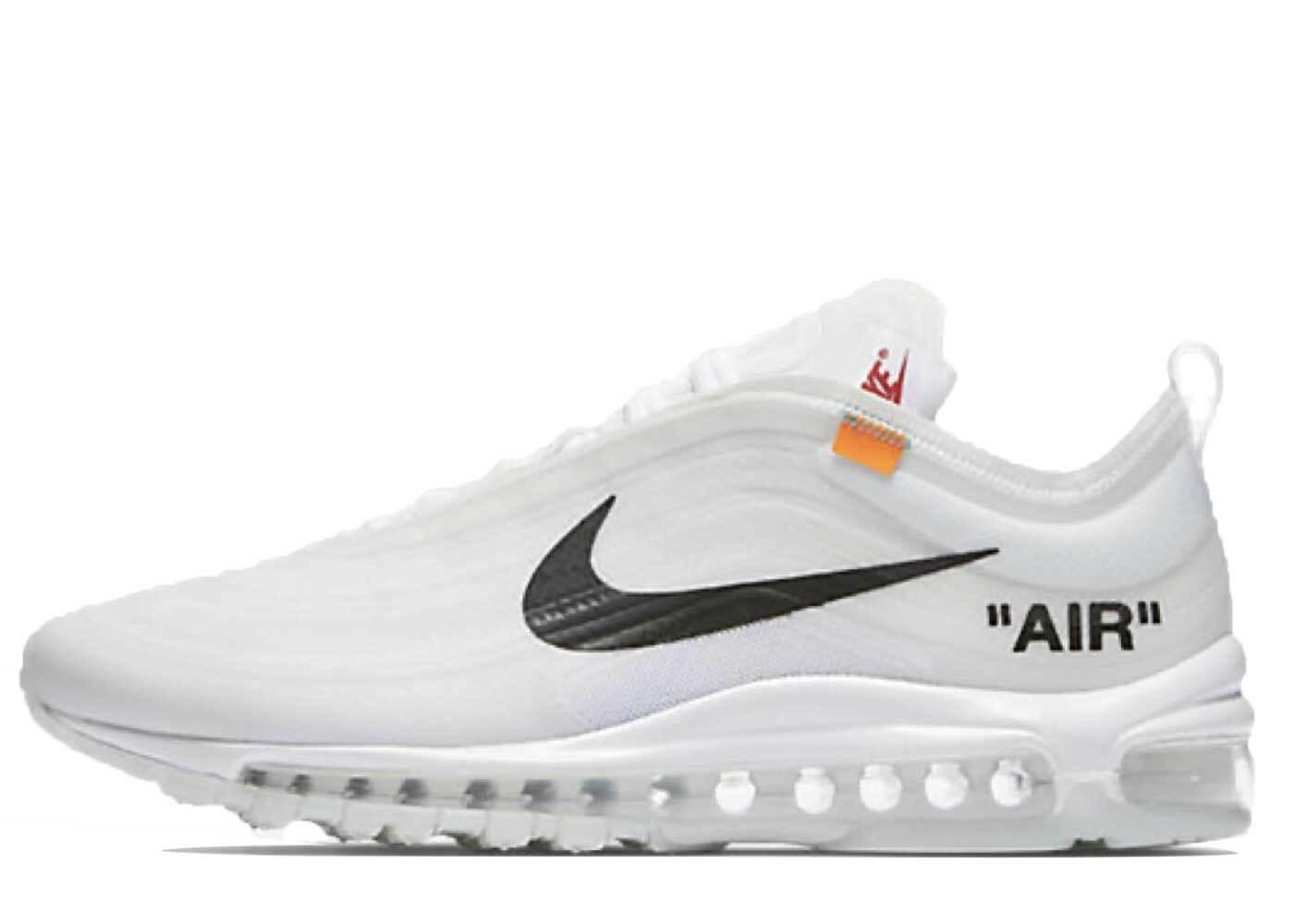 Off-White × Nike The 10 Air Max 97 OGの写真