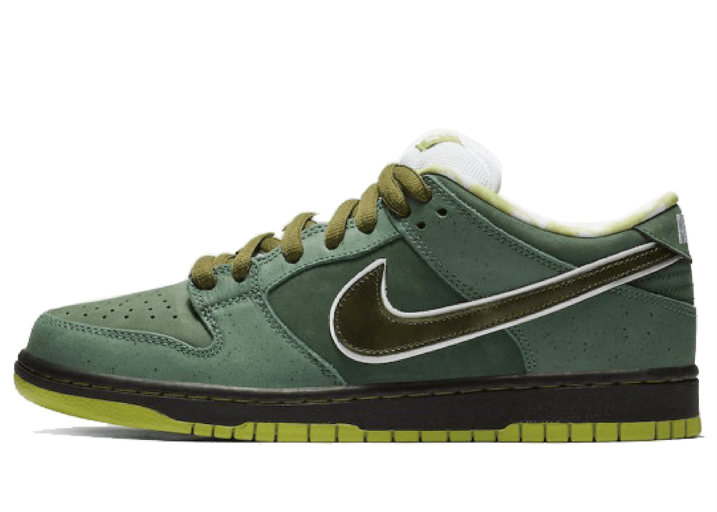 Concepts × Nike SB Dunk Low Green Lobster の写真