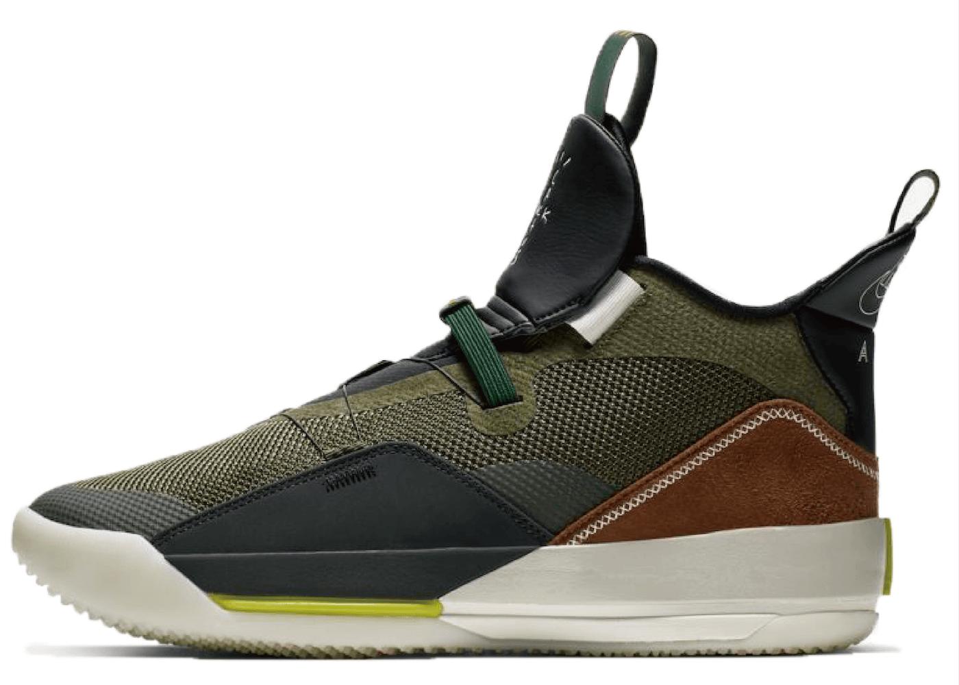 Travis Scott × Nike Air Jordan XXXIIIの写真