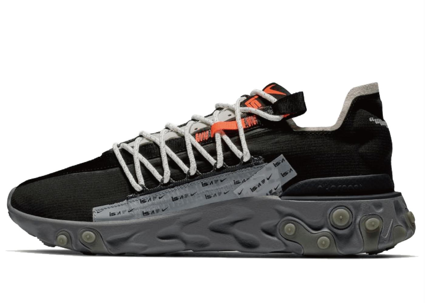 Nike ISPA React Low Blackの写真