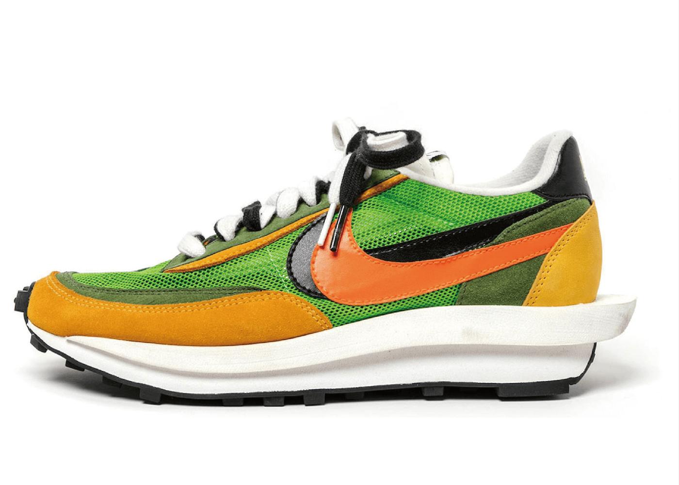 Sacai × Nike LD Waffle Green Multiの写真