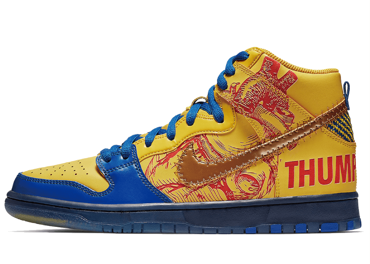 Nike SB Dunk High Finnigan Mooney 15th Anniversary Doernbecher (2019)の写真