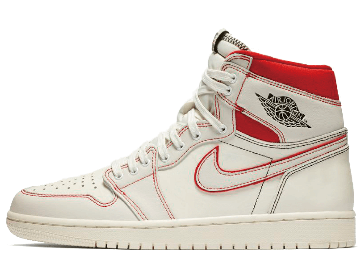 Nike Air Jordan 1 Retro High Phantom University Redの写真