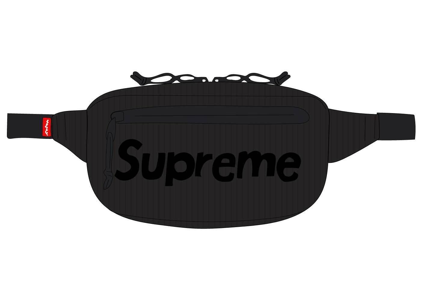 Supreme Waist Bag (SS21) Blackの写真
