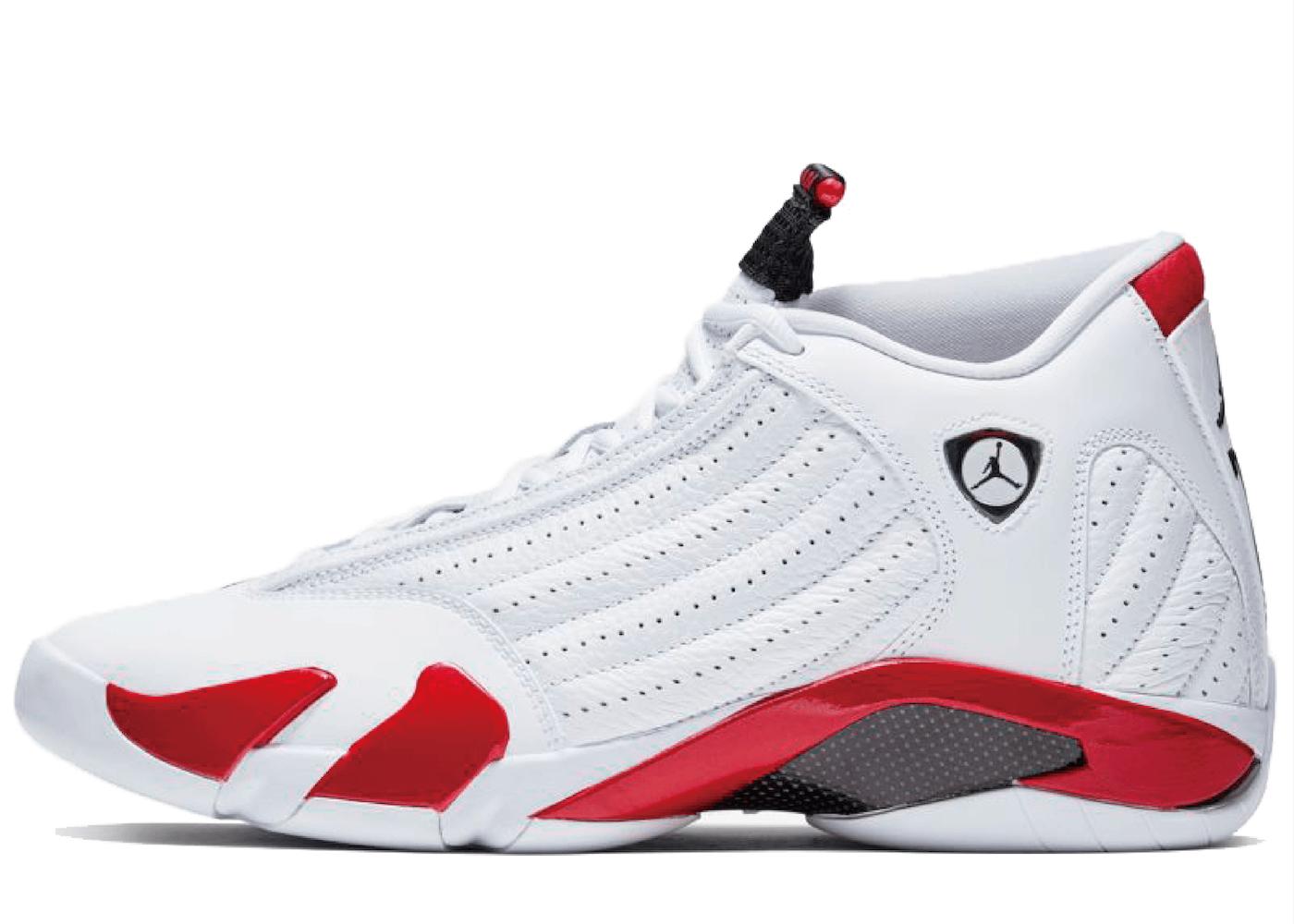 Nike Air Jordan 14 White Varsity Red Blackの写真