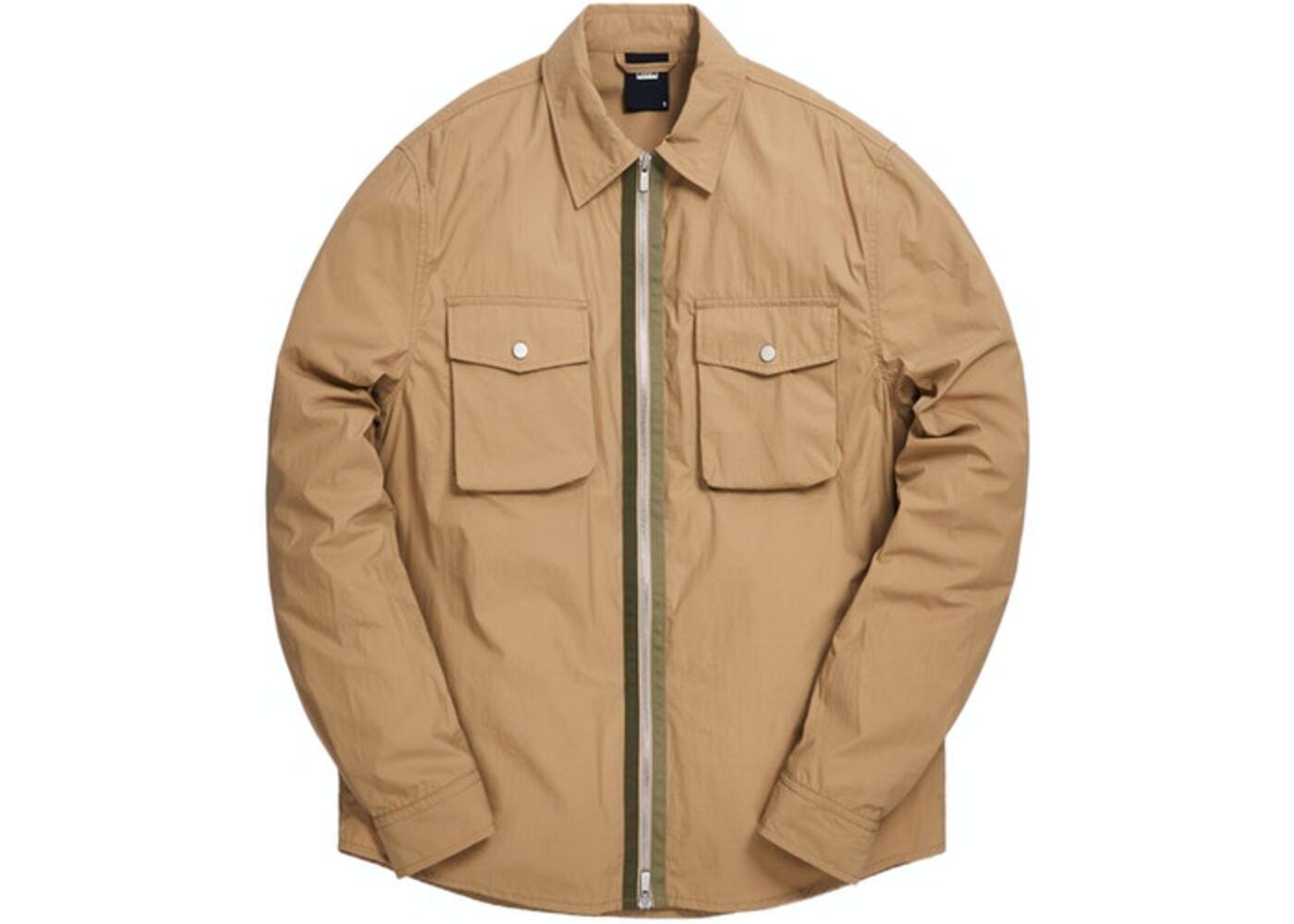 Kith Military Crispy Nylon Work Shirt Travertine の写真
