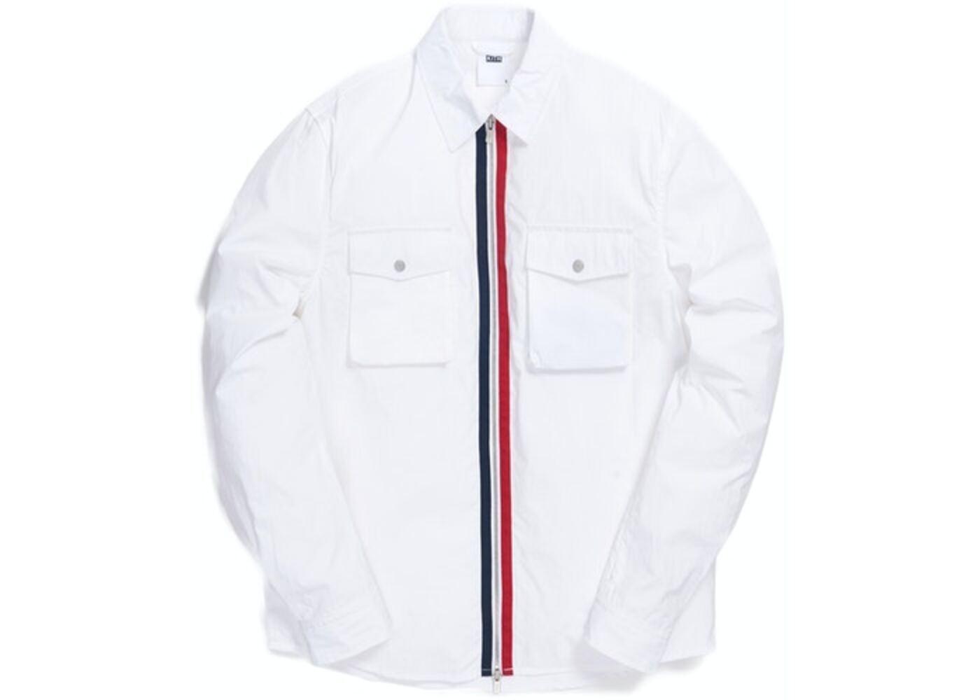 Kith Military Crispy Nylon Work Shirt White の写真