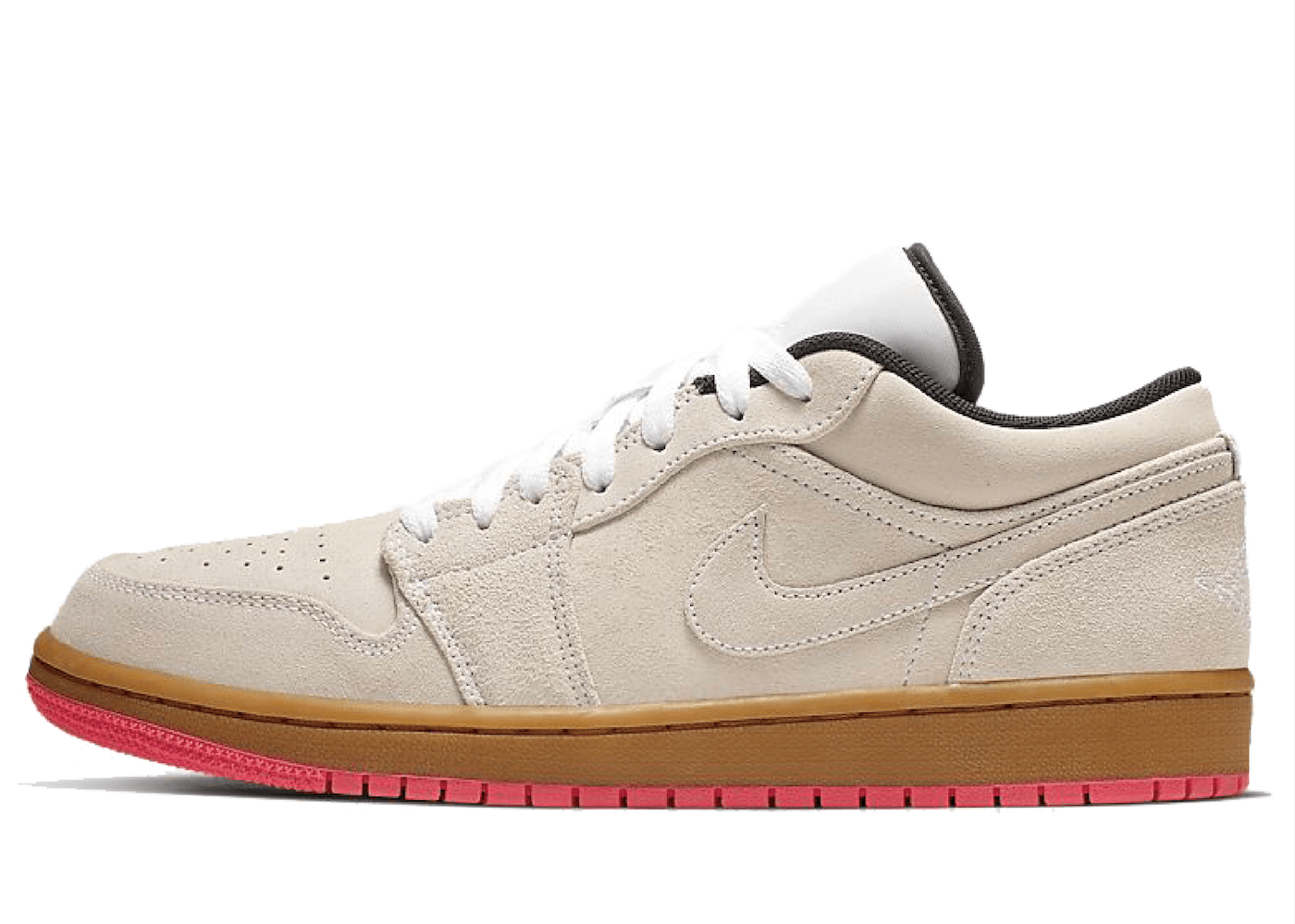 Nike Air Jordan 1 Low White Gum Hyper Pinkの写真