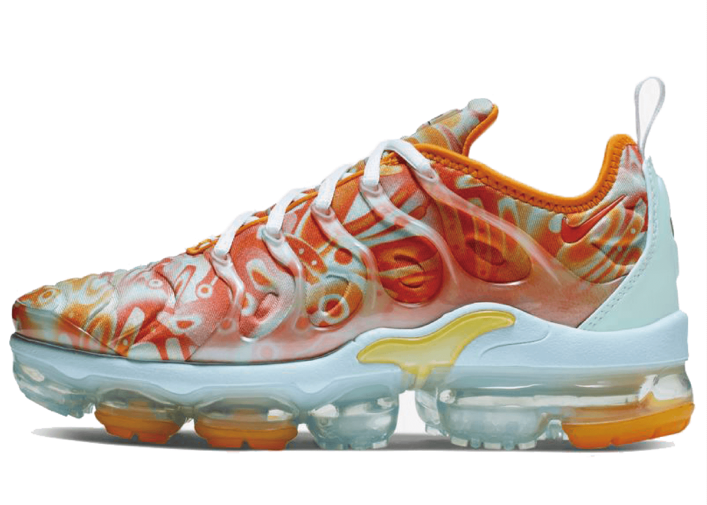 Nike Air VaporMax Plus Dip Dye Mint Orange Womensの写真