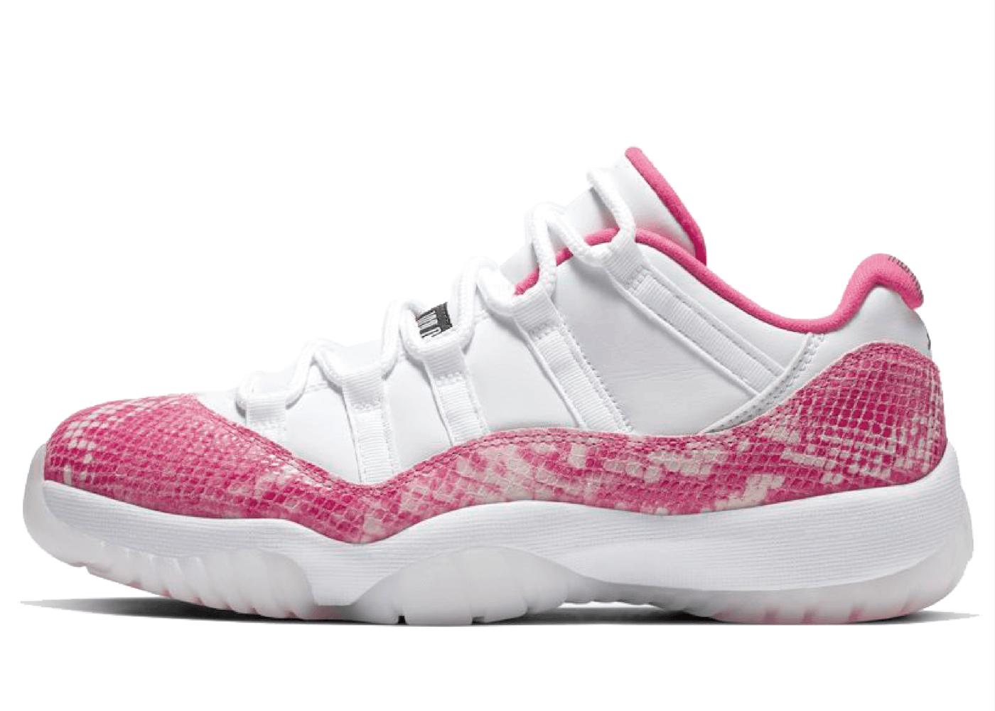 Nike Air Jordan 11 Retro Low Pink Snakeskin Womens (2019)の写真