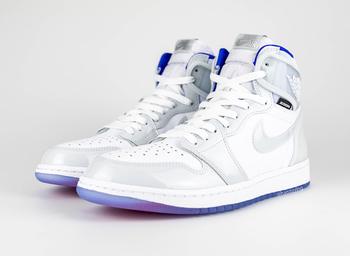 """【2020年1月発売】Nike Air Jordan 1 Retro High Zoom """"Racer Blue"""" についての写真"""