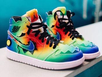 【発売日未定】J Balvin × Nike Air Jordan 1 についての写真