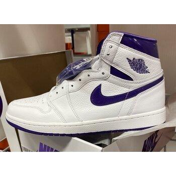 """【販売リンクあり海外2021年6月3日発売予定】Nike Air Jordan 1 High OG WMNS """"Court Purple"""" について の写真"""