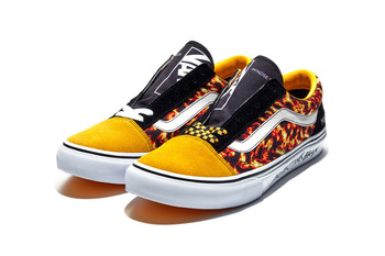 "MINDSEEKER × VANS OLD SKOOL ""FLAME""についての写真"